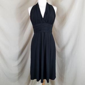Evan Picone V-Neck Cocktail Dress